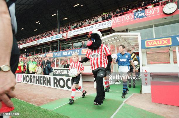 Sunderland 30 Everton Premier league match at Roker Park the last match played at Roker Park Saturday 3rd May 1997 our picture shows Sunderland...
