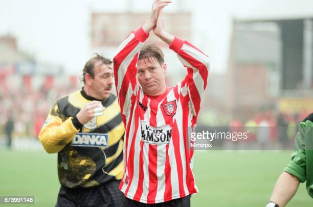 Sunderland 30 Everton Premier league match at Roker Park the last match played at Roker Park Saturday 3rd May 1997 our picture shows end of match...