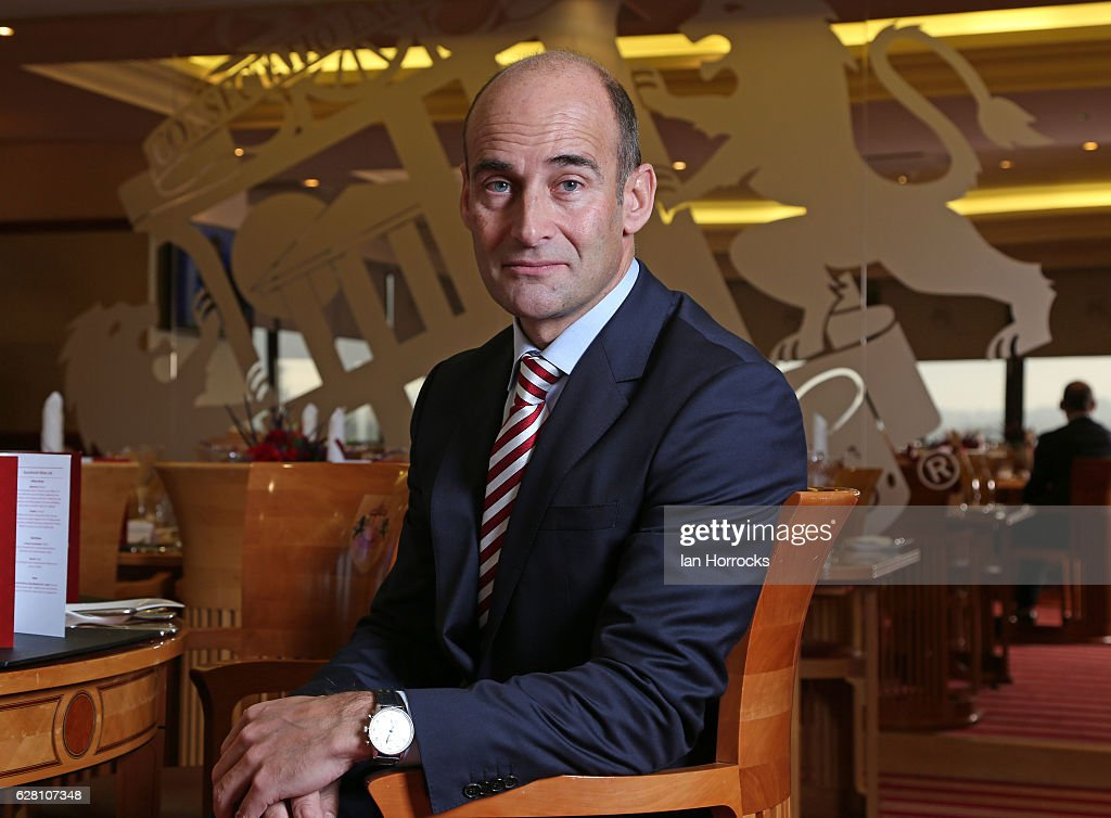Sunderland Chief Executive Martin Bain during a portrait session on December 3, 2016 in Sunderland, England.
