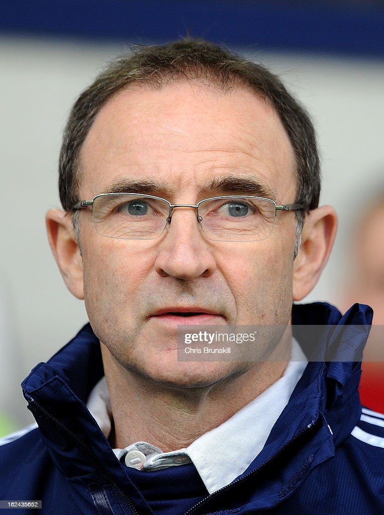 Sunderland manager <a gi-track='captionPersonalityLinkClicked' href=/galleries/search?phrase=Martin+O%27Neill&family=editorial&specificpeople=201190 ng-click='$event.stopPropagation()'>Martin O'Neill</a> looks on during the Barclays Premier League match between West Bromwich Albion and Sunderland at The Hawthorns on February 23, 2013 in West Bromwich, England.