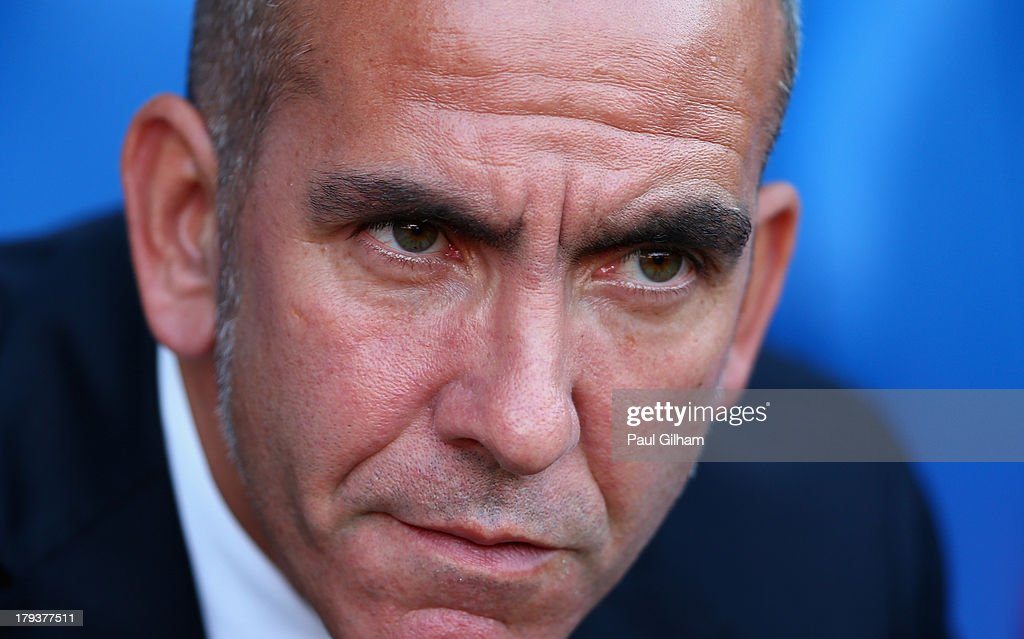 Sunderland manager <a gi-track='captionPersonalityLinkClicked' href=/galleries/search?phrase=Paolo+Di+Canio&family=editorial&specificpeople=215237 ng-click='$event.stopPropagation()'>Paolo Di Canio</a> looks on during the Barclays Premier League match between Crystal Palace and Sunderland at Selhurst Park on August 31, 2013 in London, England.