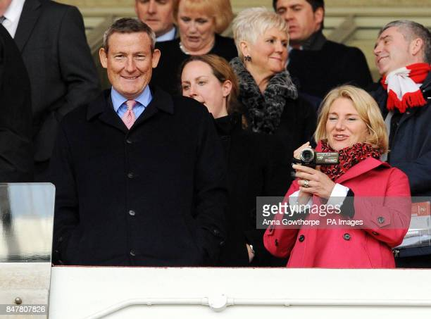Sunderland owner and chairman Ellis Short looks on from the stands during the Barclays Premier League match at the Stadium of Light Sunderland