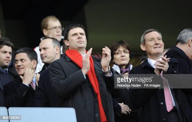 Sunderland owner Ellis Short and International Development for Sunderland Niall Quinn
