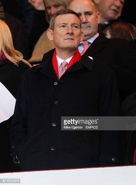 Sunderland Owner Ellis Short in the stands
