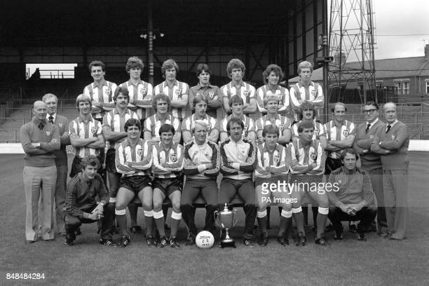 SUnderland squad for the 198081 season Joe Bolton Gordon Chisholm Claudio Marangoni Chris Turner Rob Hindmarch Kevin Arnott and Steve Whitworth Jimmy...