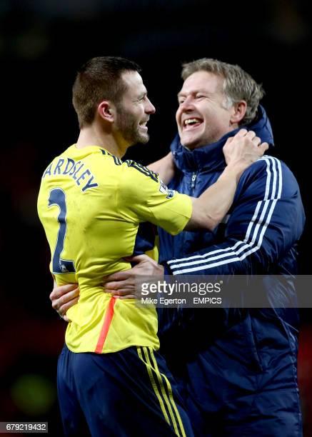 Sunderland's Phil Bardsley celebrates
