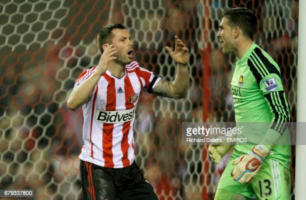 Sunderland's Phil Bardsley rues a missed chance