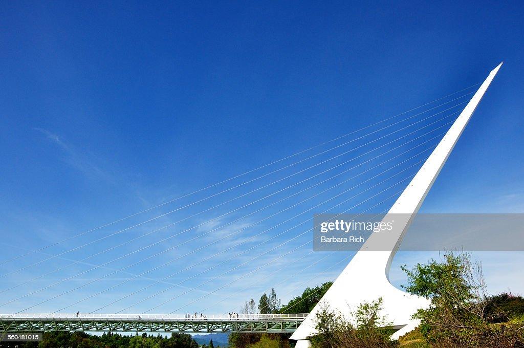 Sundial Bridge at Turtle Bay in Redding California