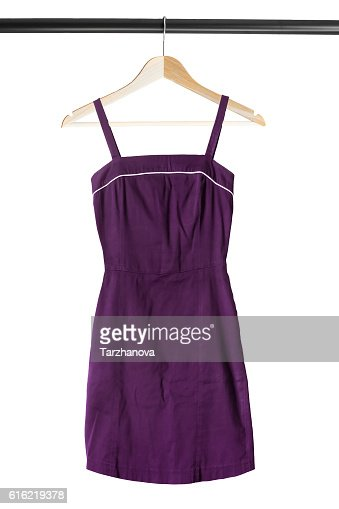 Sundress on clothes rack : Foto stock