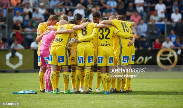 Sundsvall during the Allsvenskan match between Halmstad BK and GIF Sundsvall at Orjans Vall on July 22 2017 in Halmstad Sweden