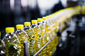 Sunflower Oil Factory, Close-Up, High Iso, Selective Focus