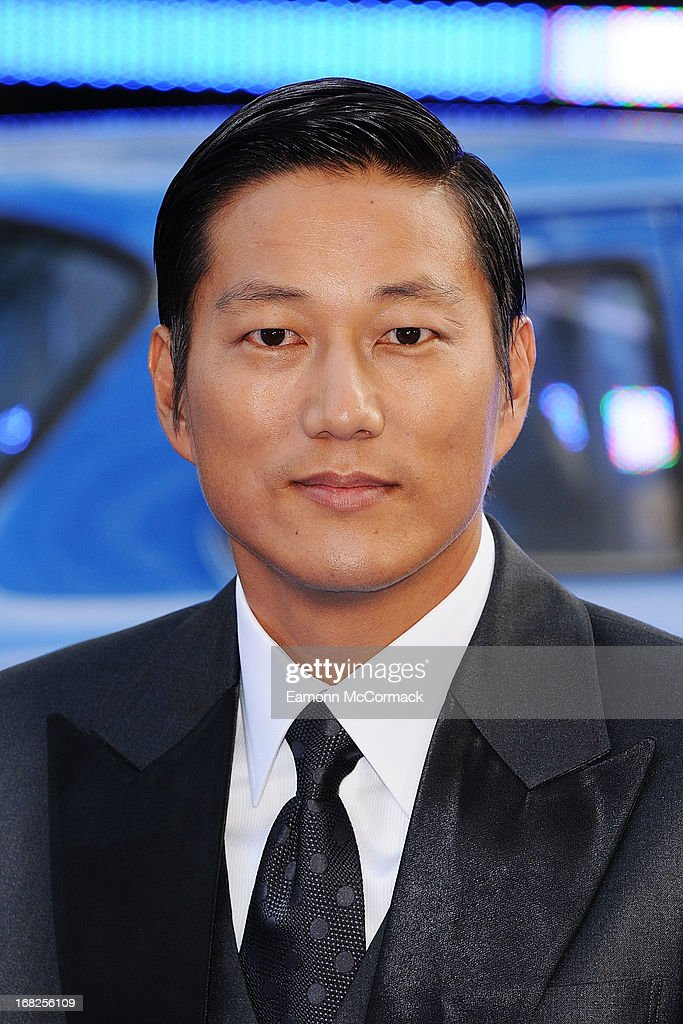 Sung Kang attends the World Premiere of 'Fast & Furious 6' at Empire Leicester Square on May 7, 2013 in London, England.
