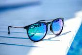 Sunglass reflection