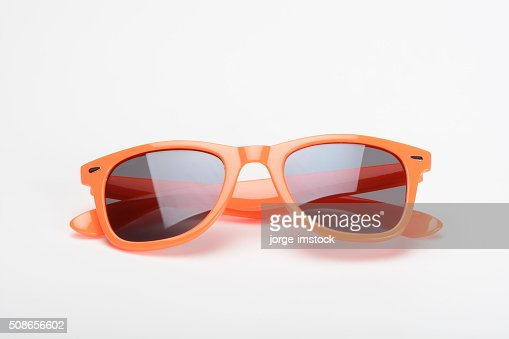 Sunglasses orange : Stock Photo