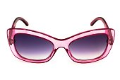 Shady Sunglasses With Transparent Pink Rims
