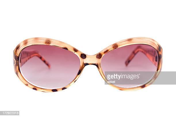 Sonnenbrille mit Schneidepfaden