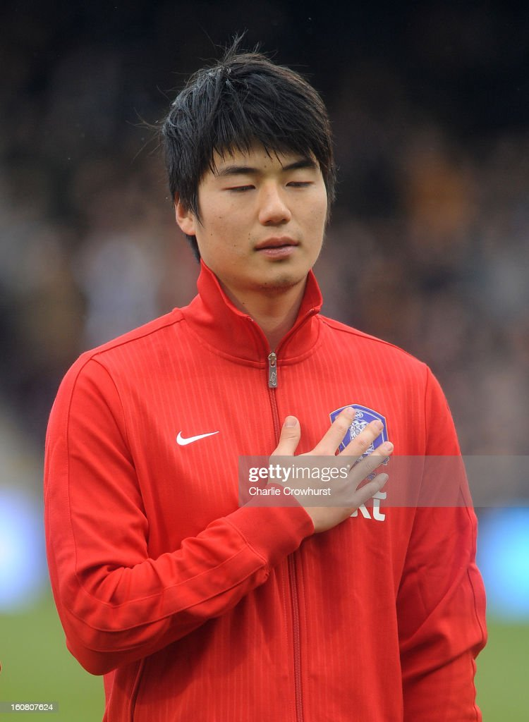 Sung-Yueng Ki of Korea Republic poses priorthe International Friendly match between Croatia and Korea Republic at Craven Cottage on February 6, 2013 in London, England.