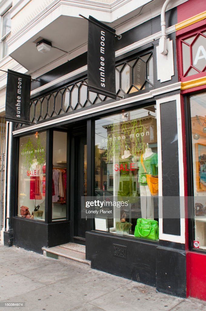 Moon clothing store