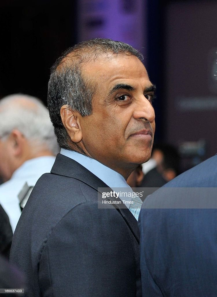 Sunil Bharti Mittal, chairman and CEO of Bharti Enterprises during special plenary session of CII Annual General Meeting and National Conference 2013 at The Ashoka hotel on April 4, 2013 in New Delhi, India.