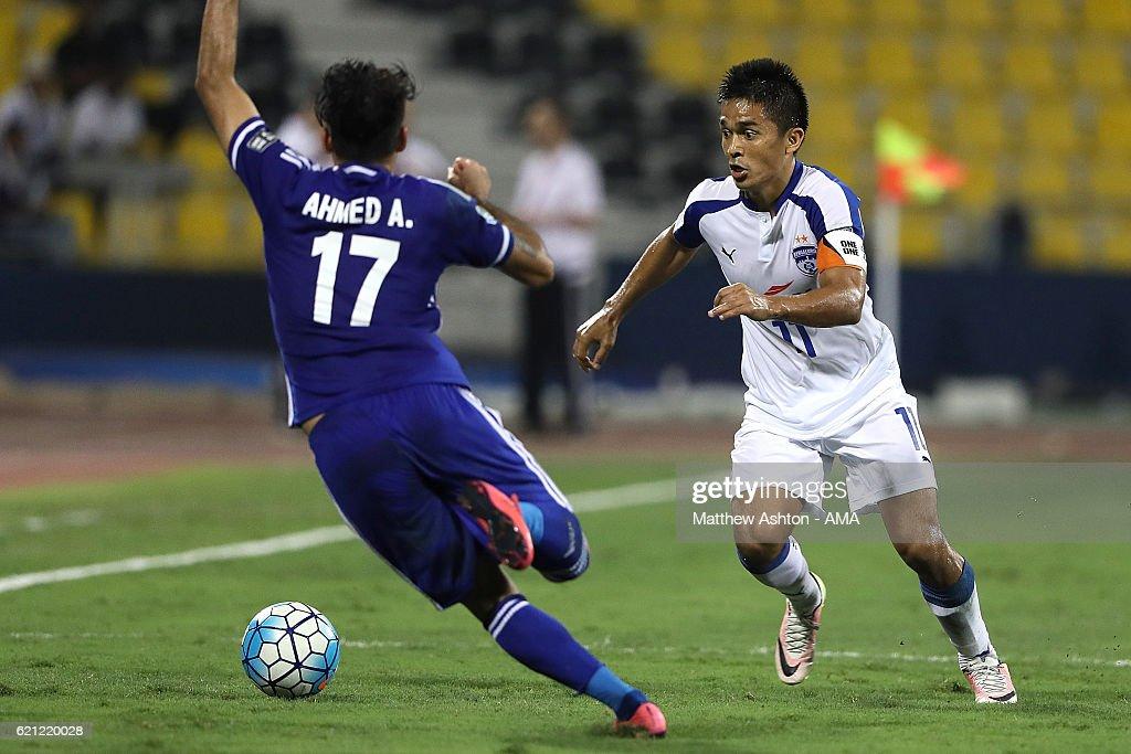 AFC Cup Final 2016: JSW Bengaluru v Air Force Club - Al-Quwa Al-Jawiya : News Photo