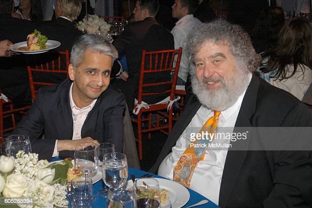 Sunil Gulati and Chuck Blazer attend Randall's Island Sports Foundation and MasterCard Celebrate Soccer in the USA at Randall's Island on May 8 2006...