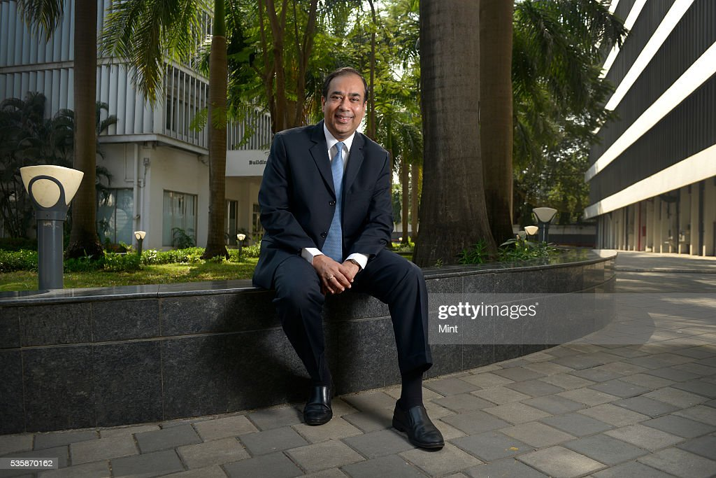 Sunil Mathur, Managing Director and Chief Executive Officer of Siemens Limited, poses during an exclusive interview in his office on December 1, 2015 in Mumbai, India.