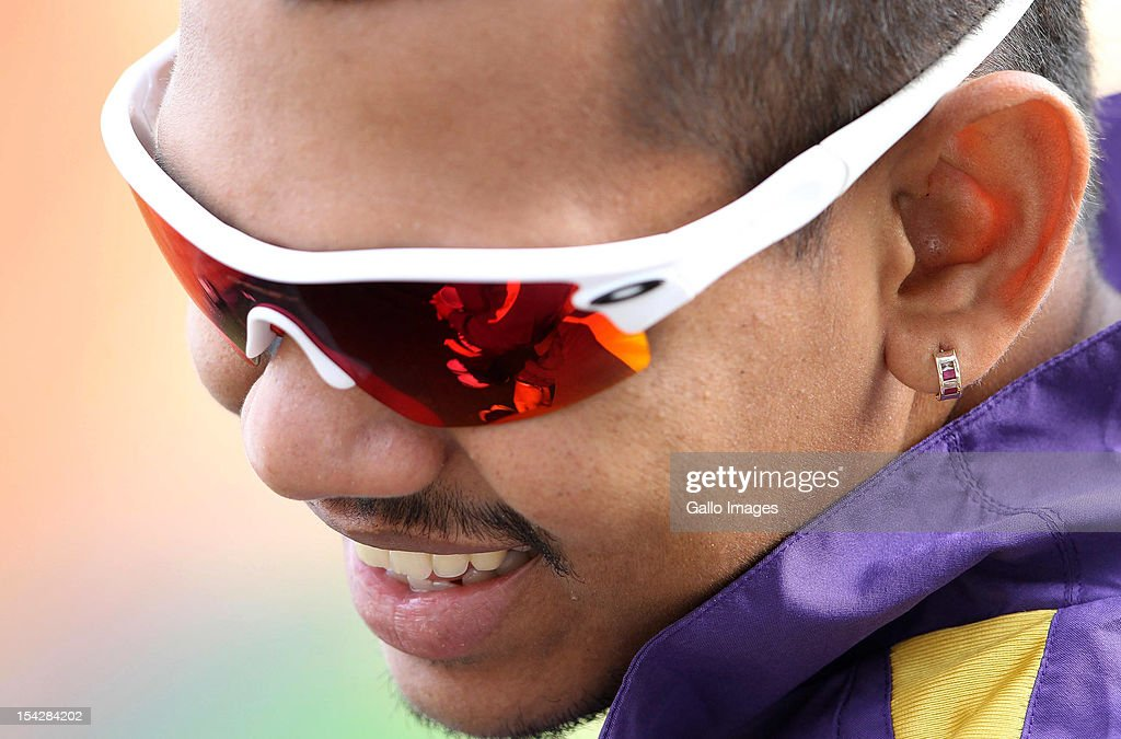 <a gi-track='captionPersonalityLinkClicked' href=/galleries/search?phrase=Sunil+Narine&family=editorial&specificpeople=8287526 ng-click='$event.stopPropagation()'>Sunil Narine</a> of the Kolkata Knight Riders during the Karbonn Smart CLT20 match between Kolkata Knight Riders and Perth Scorchers at Sahara Stadium Kingsmead on October 17, 2012 in Durban, South Africa.