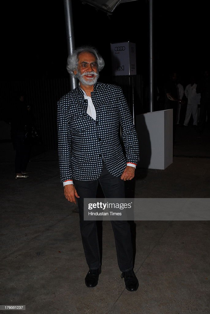 Sunil Sethi, President Fashion Design Council of India during FDCI and Audi India's winter collection at Tote, Mahalaxmi Race Course on August 30, 2013 in Mumbai, India.