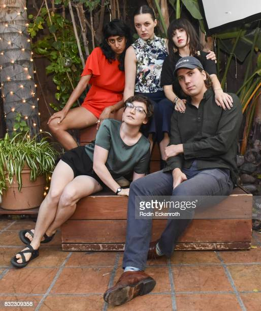 Sunita Mani Director/writer Rachel Wolther Eleanore Pienta Tallie Medel and Director/writer Alex Huston Fischer pose for portrait at the screening of...