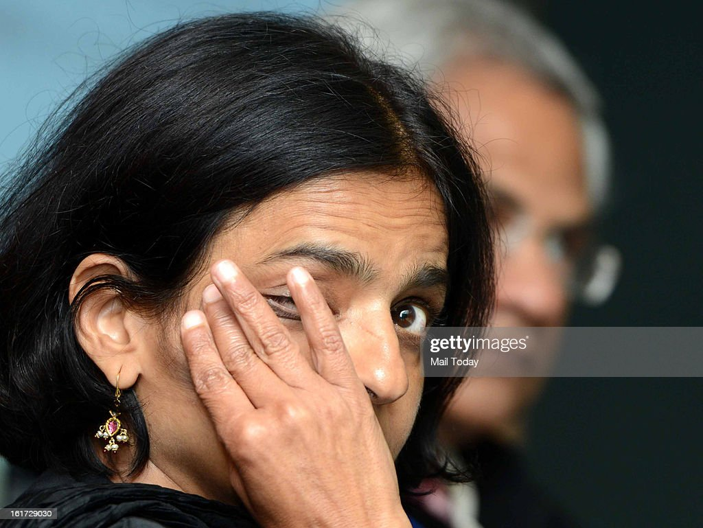 Sunita Narain, director general, Centrer for Science and Enviroment during a programme on Burden of Disease, Air pollution among top killers in New Delhi on Wednesday.