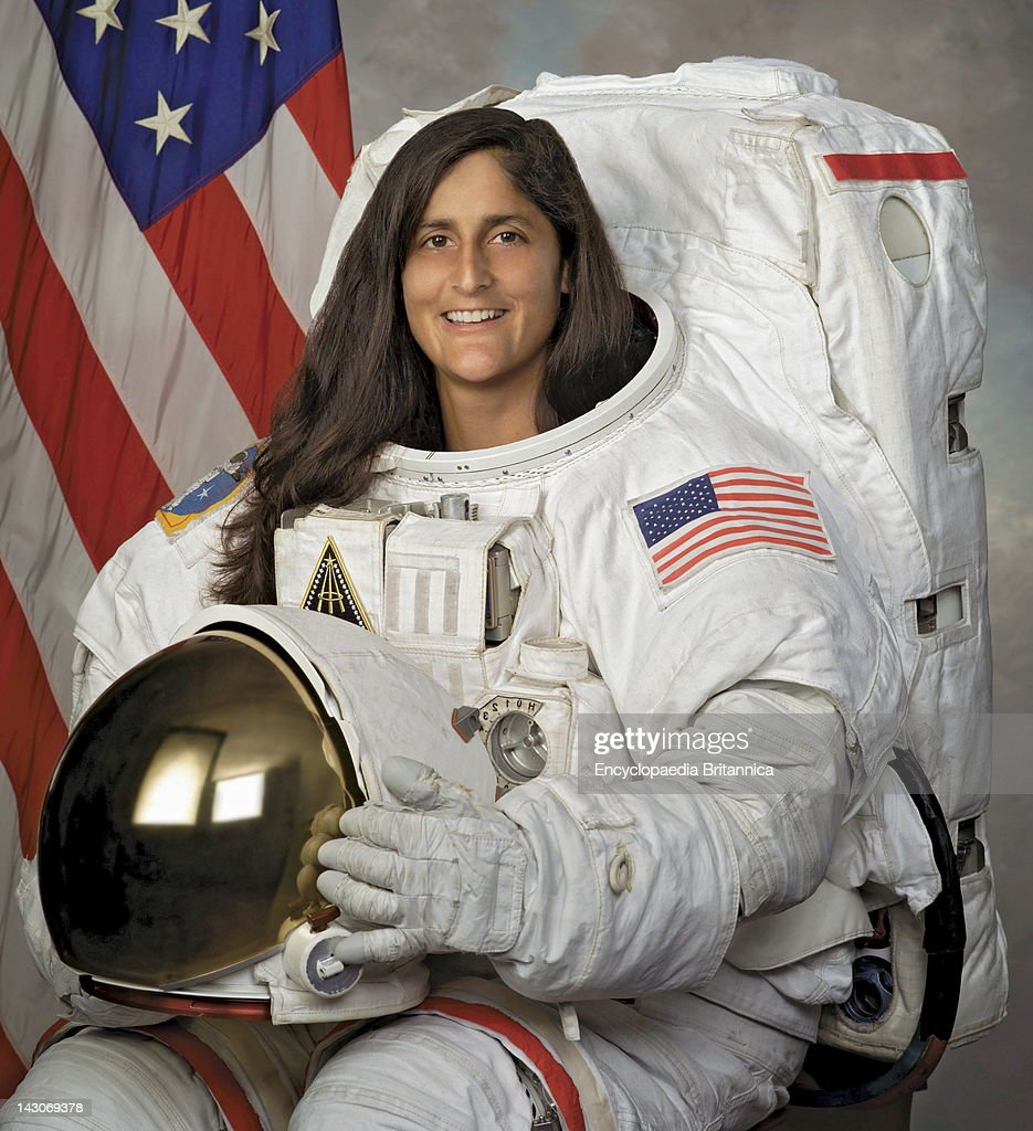 <a gi-track='captionPersonalityLinkClicked' href=/galleries/search?phrase=Sunita+Williams&family=editorial&specificpeople=4001582 ng-click='$event.stopPropagation()'>Sunita Williams</a>, American Astronaut Who Holds The Record For Longest Space flight By A Woman, Photographed In 2004.