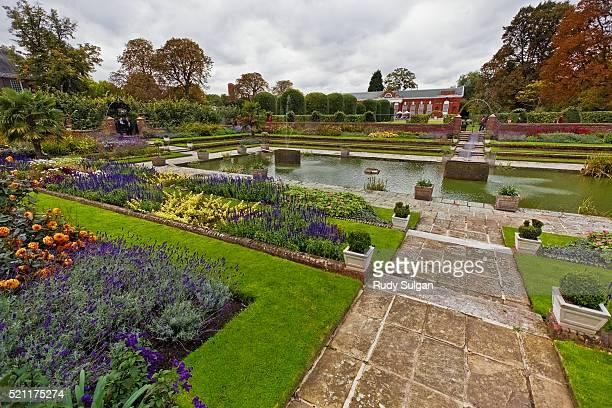 Sunken Garden in Kensington Gardens