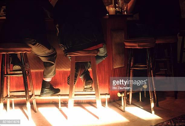 Sunlight in a Scottish pub