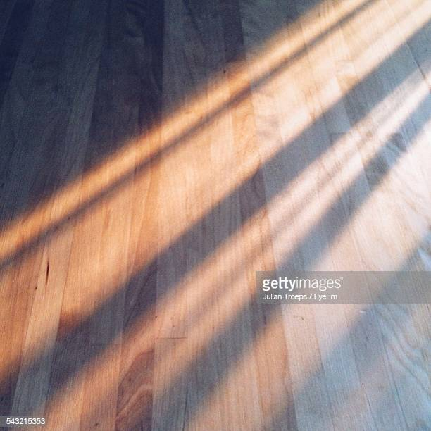 Sunlight On Hardwood Floor