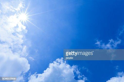 Sunlight Through Clouds : Stock Photo