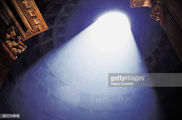 Sunlight through dome of Pantheon - Rome