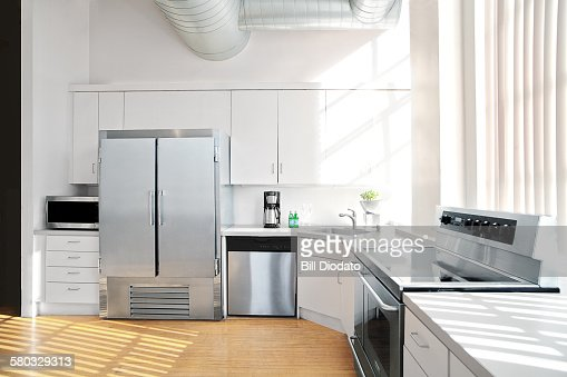sunlit kitchen interior 2