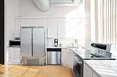 sunlit kitchen interior 2