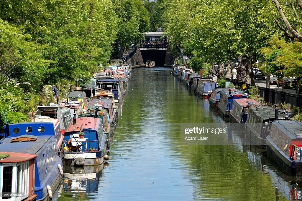 Sunlit Regents Canal