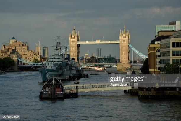 Sunlit Tower Bridge