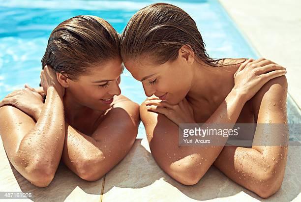 Sun-loving sisters