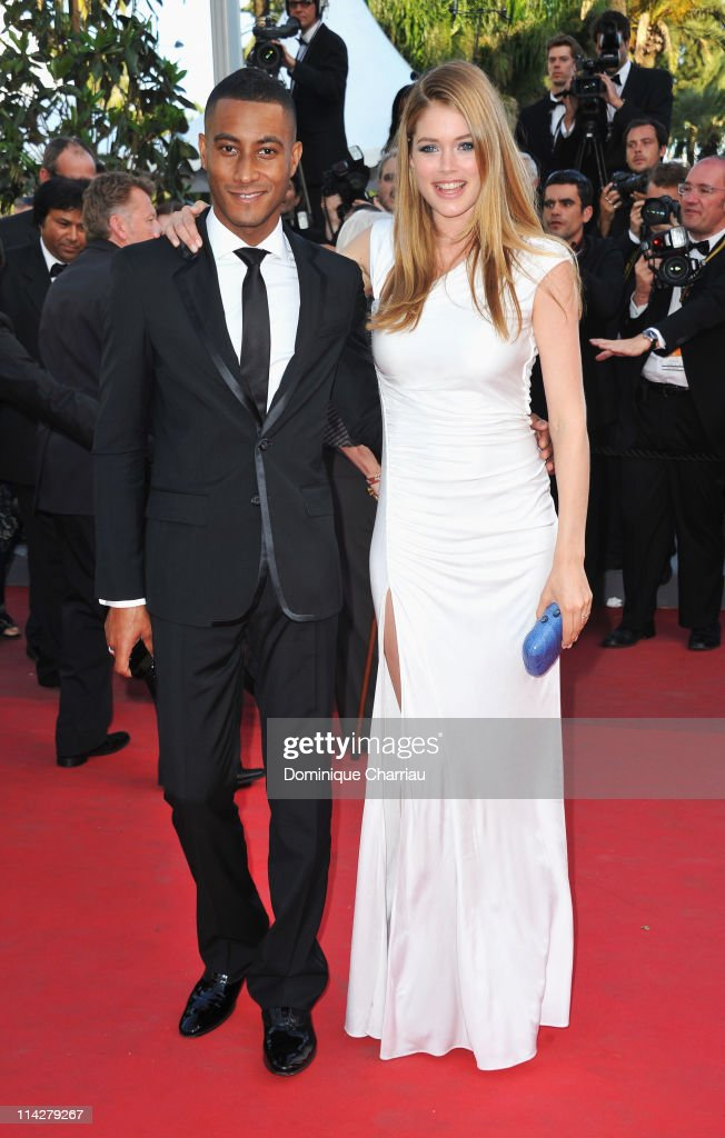 Sunnery James and model Doutzen Kroes attends 'The Beaver' Premiere during the 64th Cannes Film Festival at the Palais des Festivals on May 17 2011...