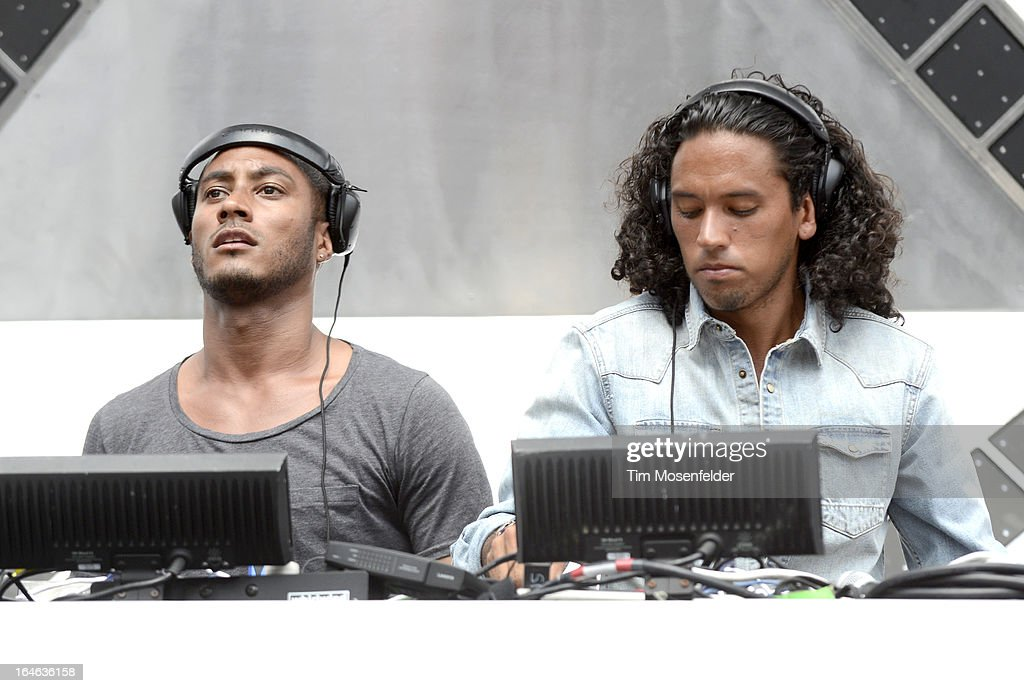 <a gi-track='captionPersonalityLinkClicked' href=/galleries/search?phrase=Sunnery+James&family=editorial&specificpeople=7019061 ng-click='$event.stopPropagation()'>Sunnery James</a> (L) and Ryan Marciano of <a gi-track='captionPersonalityLinkClicked' href=/galleries/search?phrase=Sunnery+James&family=editorial&specificpeople=7019061 ng-click='$event.stopPropagation()'>Sunnery James</a> & Ryan Marciano perform at the Ultra Music Festival on March 24, 2013 in Miami, Florida.