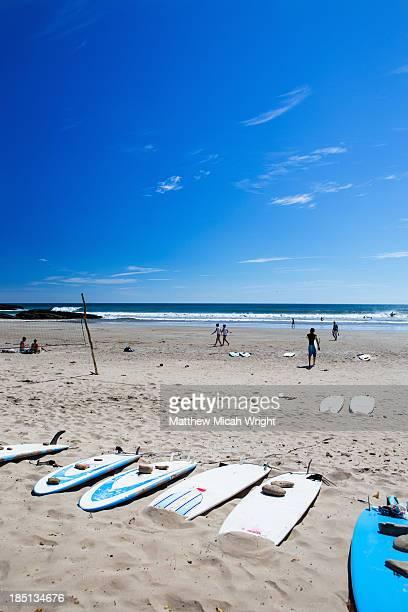 A sunny afternoon at Playa Maderas beach
