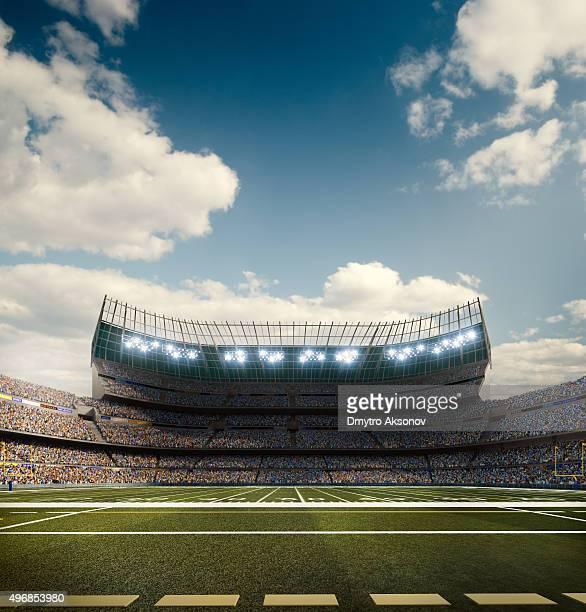 Sol estádio de futebol americano