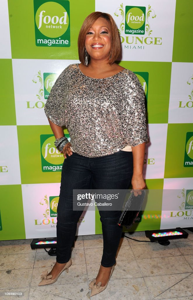 Sunny Anderson food network magazine lounge miami photos and images | getty images
