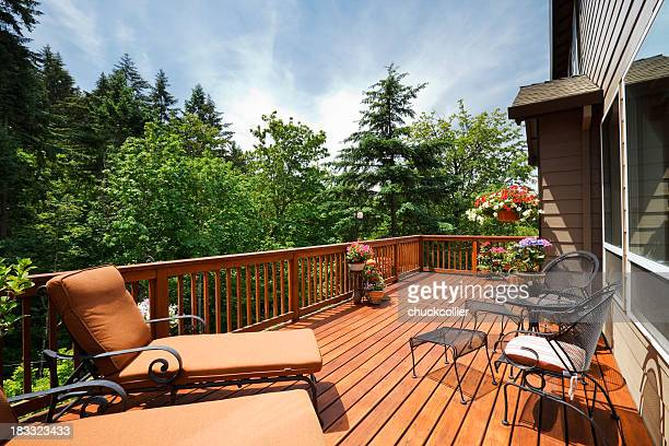 Sonnige Back Deck
