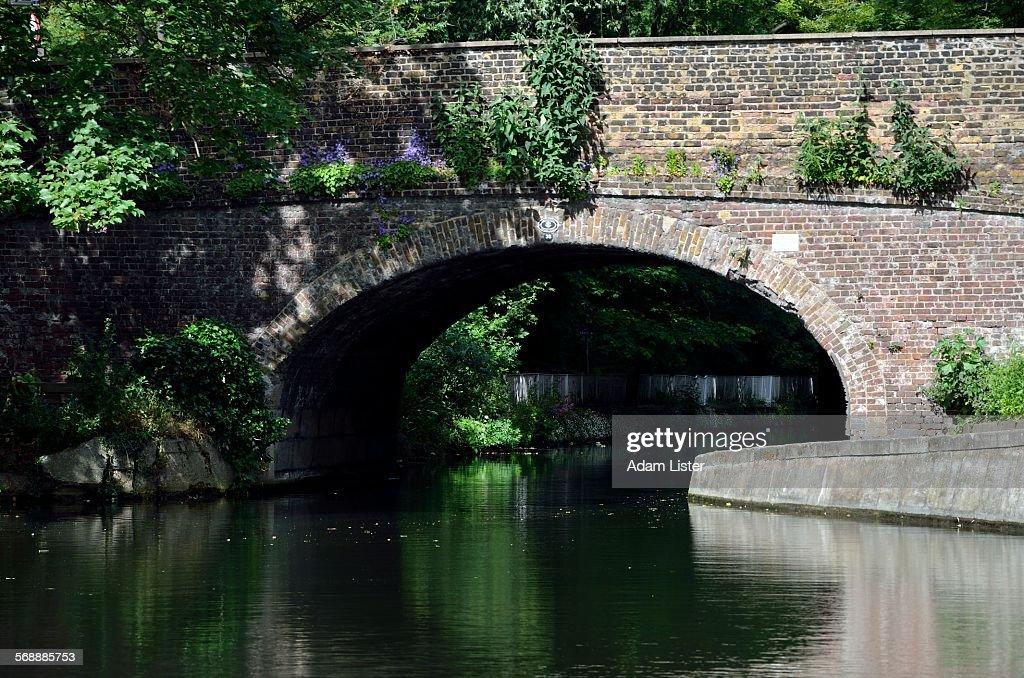 Sunny Canal Bridge