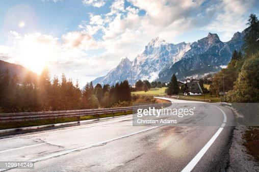 Sunny Countryside Road