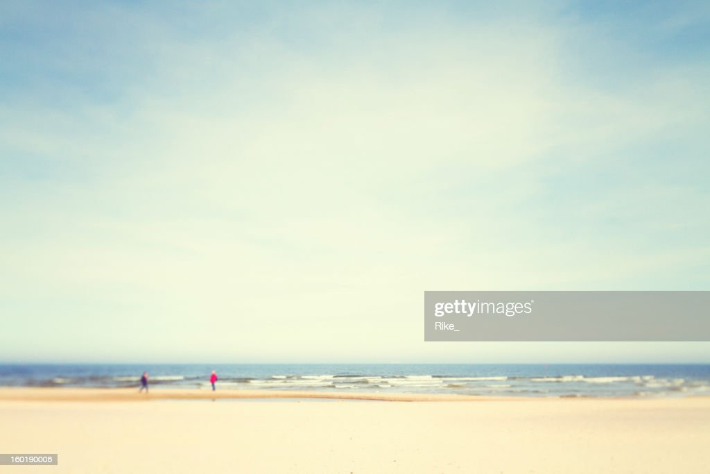 Sunny day at the Baltic Sea : Stock Photo